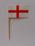 England Country Flag Cocktail Sticks (pack of 10)